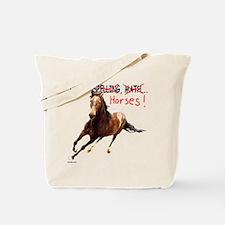 I Love Spelling Tote Bag