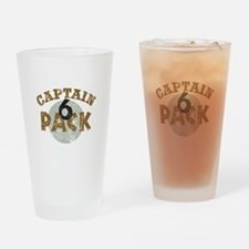 Captain 6 Pack Drinking Glass
