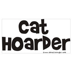 Cat Hoarder Poster