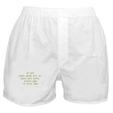 Work Every Day Boxer Shorts