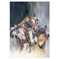 Hollywood Horses Poster