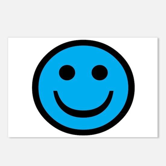 Cute Smileys Postcards (Package of 8)