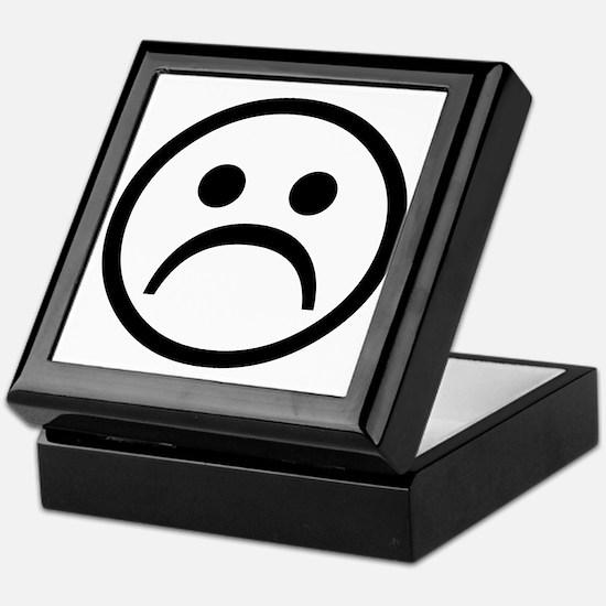Cute Sad Keepsake Box