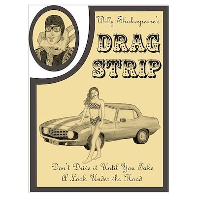 Shakespeare Drag Strip Poster