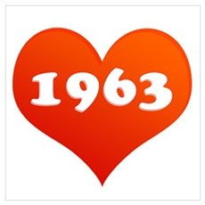 My Heart loves 1963 Canvas Art