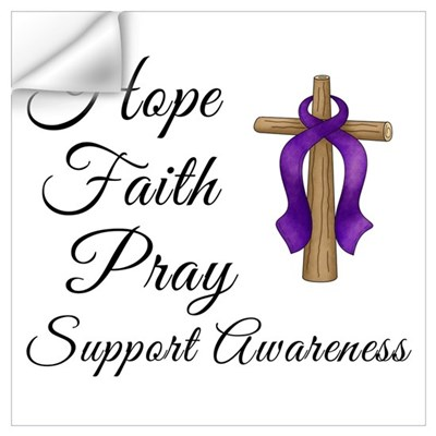 Support Awareness - Lupus Cross Wall Decal