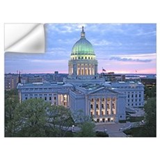 Capitol, Madison, WI Wall Decal