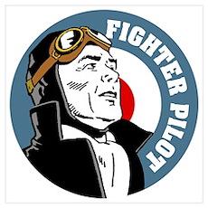 Fighter Pilot Poster