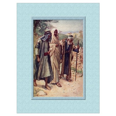 Emmaus-Copping-9x12 Poster