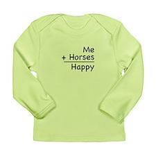 Me + Horses Long Sleeve Infant T-Shirt