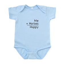Me + Horses Infant Bodysuit
