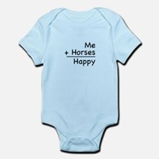 Me + Horses Infant Bodysuit