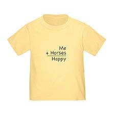 Me + Horses T