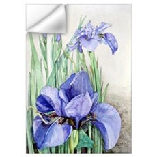 Purple Iris Wall Decal