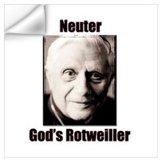 Neuter God's Rotweiller Wall Decal