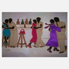 Funny African american Wall Art