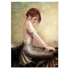 Sea Faerie, Mermaid Poster