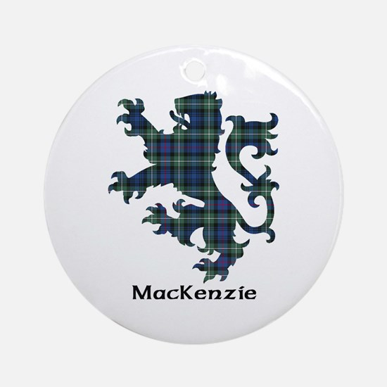 Lion-MacKenzie Round Ornament