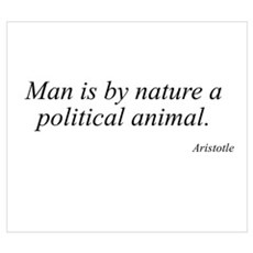 Aristotle quote 49 Poster