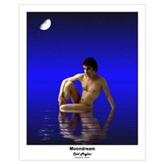 Moondream by Rippleman Poster
