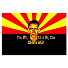 We, all of us Obama Poster