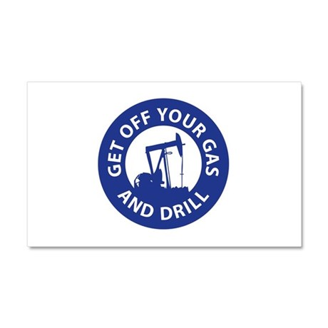 Drill Now Car Magnet 20 x 12