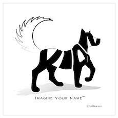 Kian Black Dog Poster