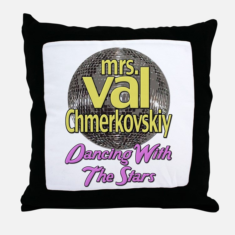 Mrs. Val Chmerkovskiy Dancing With The Stars Throw