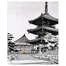 JAPAN-PAGODA Poster