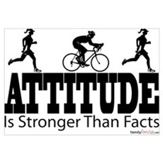 Attitude is Stronger Duathlon Poster
