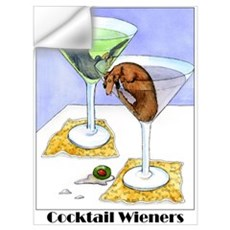 Cocktail Wieners (Longhaired Wall Decal