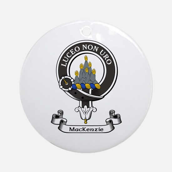 Badge - MacKenzie Ornament (Round)