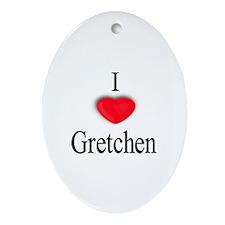 Gretchen Oval Ornament