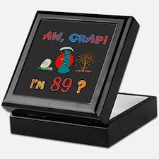 AW, CRAP! I'M 89! Gift Keepsake Box