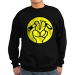 Funny Anti Smoking Sign Sweatshirt (dark)