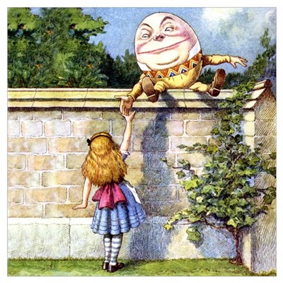 ALICE & HUMPTY DUMPTY Poster