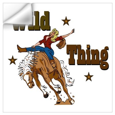"""Wild Thing"" Wall Decal"
