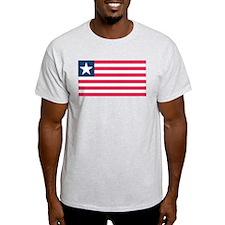Cute Liberia flag T-Shirt