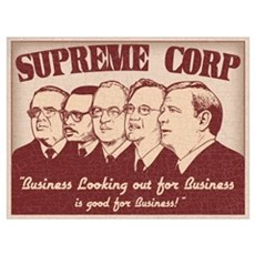 The Supreme Corp Poster