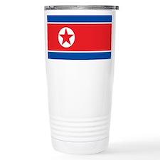 Cool North korea Travel Mug