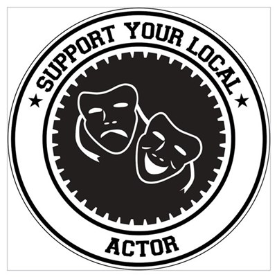 Support Actor Canvas Art