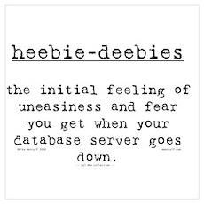 heebie-deebies Poster