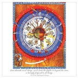 Hildegard von bingen Wrapped Canvas Art