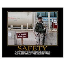 Safety Motivational Poster