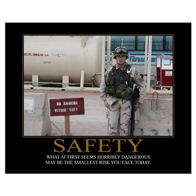 Safety Motivational Poster