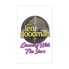 Mrs. Len Goodman Dancing With The Stars Sticker (R