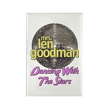 Mrs. Len Goodman Dancing With The Stars Rectangle