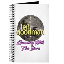 Mrs. Len Goodman Dancing With The Stars Journal