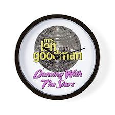 Mrs. Len Goodman Dancing With The Stars Wall Clock
