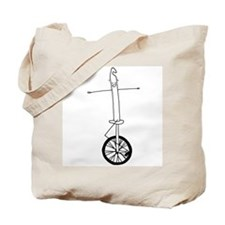 Unicycle Tote Bag